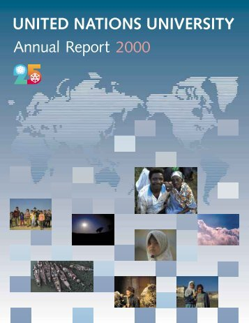 2000 Annual Report - United Nations University