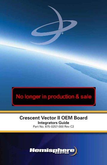Crescent Vector II OEM Board