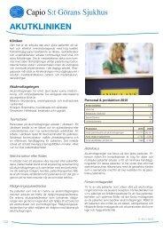 Verksamhetsblad Akutkliniken.pdf - Capio S:t Görans Sjukhus