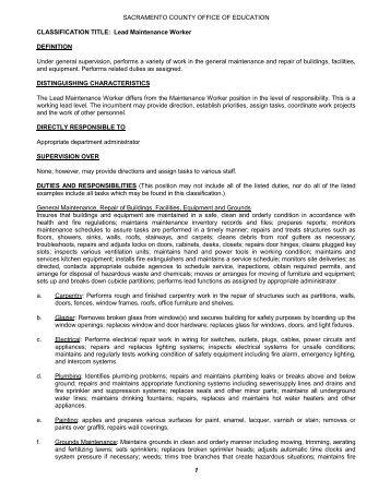 job description financial analyst sacramento county