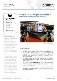 caso estudio Campus TV en - VSN