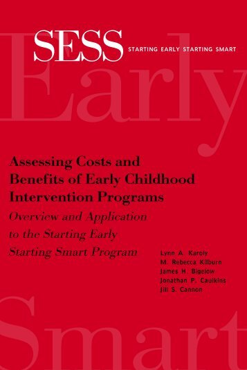 Assessing Costs and Benefits of Early Childhood Intervention ...