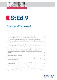 StEd.9 - Stotax Portal