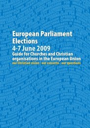 European Parliament Elections 4-7 June 2009 - CEC-CSC ...