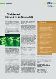 DFNInternet DFN - DFN-PKI - DFN-Verein