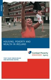 Housing, Poverty & Wealth in Ireland - Combat Poverty Agency
