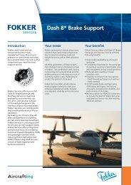 Leaflet Bombardier Dash-8 Brake Support (PDF ... - Fokker Services