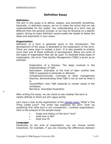 Chapter  Thesis Definition Essay  Essay For You  Chapter  Thesis Definition Essay  Image