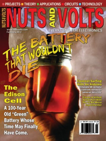 Nuts and Volts - February 2012