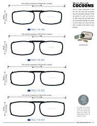 size - Cocoons Eyewear