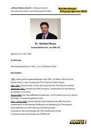 Lebenslauf-Dr. Gerhard Roiss