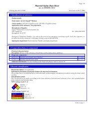 MSDS Sheet - Legacy Decorative Concrete Systems, Inc.