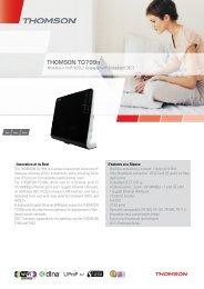 THOMSON TG799n - Marcom Telecoms Home page