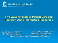 Five Ways to Improve Patient Care and Research Using Information ...