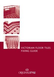 VICTORIAN FLOOR TILES FIXING GUIDE - Mattonella Tile Studio