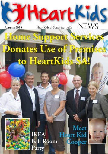HKSA AUTUMN 2010.indd - HeartKids SA
