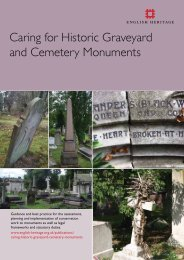 Caring for Historic Graveyard and Cemetery Monuments