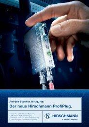 Der neue Hirschmann ProfiPlug. - SG Connect