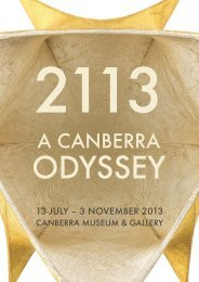 Exhibition digital catalogue - ACT Museums and Galleries
