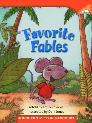 Lesson 24:Favorite Fables