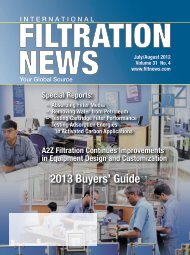 2013 Buyers' Guide 2013 Buyers' Guide - Filtration News