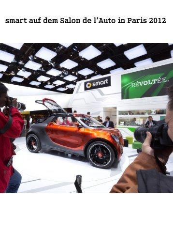 Der Messeauftritt - Smart Roadster Club Schweiz