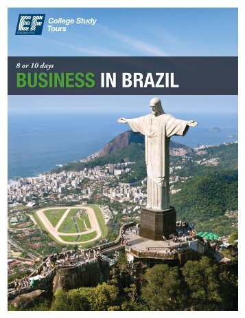 BUSINESS IN BRAZIL - EF College Study Tours