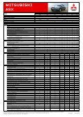 Übersicht - Mitsubishi - Page 2