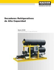 Secadores Refrigerativos de Alta Capacidad - Kaeser