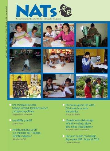 Revista NATs Nº 19, Año XIV - Ifejant.org.pe