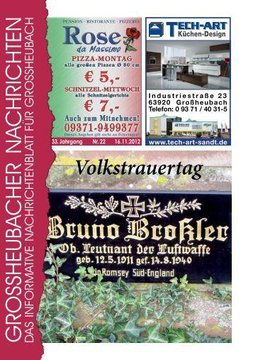 Großheubacher Nachrichten Ausgabe 22-2012 - STOPTEG Print ...