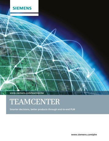 Teamcenter Overview Brochure - TESIS PLMware
