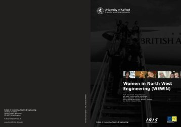 Women in North West Engineering (WEWIN) - School of Computing ...