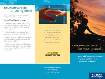 Young adult bereavement art group for people ages 17-24 years ...
