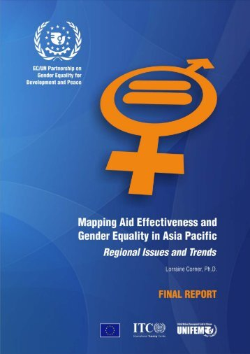 Mapping Aid Effectiveness and Gender Equality in ... - UN Women