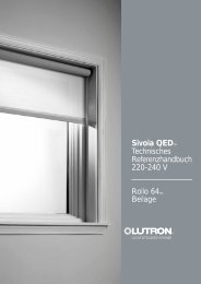 Sivoia QED™ 220-240 V - Lutron