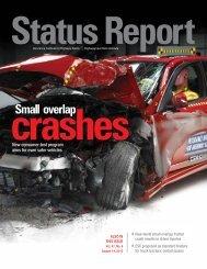 IIHS Status Report newsletter, Vol. 47, No. 6, August 14, 2012