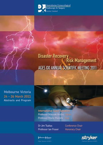 Disaster Recovery Risk Management - AGES