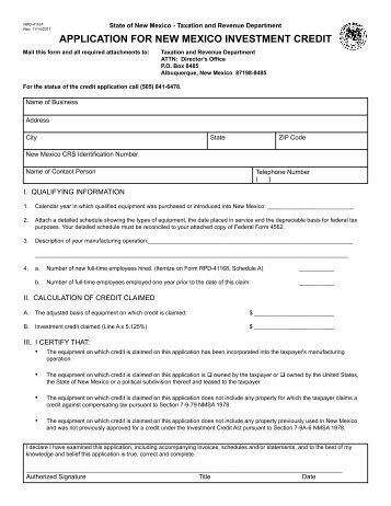 Missouri Property Tax Credit Form