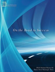 On the Road to Success - Hillsboro Chamber of Commerce