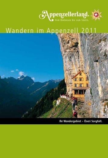Wandern im Appenzell 2011 - Familie David