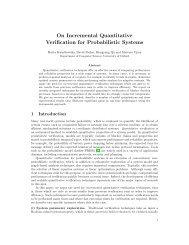 On Incremental Quantitative Verification for Probabilistic Systems