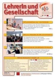 158 Dezember 2013 - Sozialdemokratischer LehrerInnenverein ...