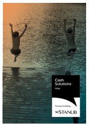 Cash FAQ's - Stanlib
