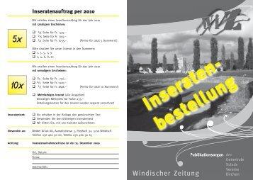j91136_Stadt Brugg_Briefbogen - Windischer-Zeitung