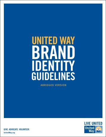 Click here for our brand guidelines. - United Way of East Central Iowa