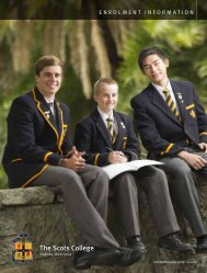Download Application Form - The Scots College