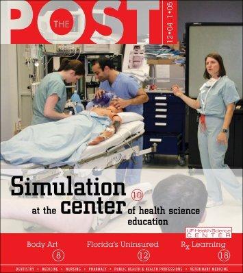 Simulation Center - UF Health Podcasts - University of Florida