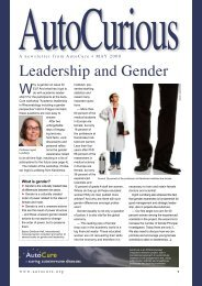 Leadership and Gender - Autocure