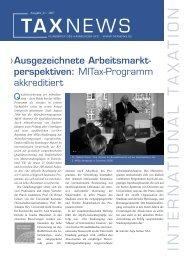 TAX NEWS - IIFS
